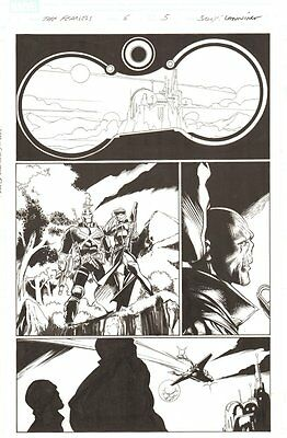 Fear Itself: The Fearless #6 p.5 - Crossbones and Sin - 2012 art by Mark Bagley
