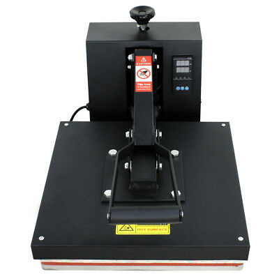 "Digital Clamshell Heat Press Transfer T-Shirt Sublimation Machine 15"" x 15"""