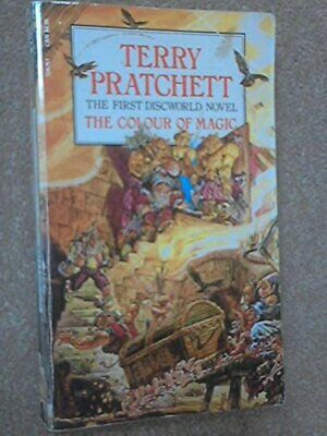 The Colour of Magic by Pratchett, Terry Paperback Book The Cheap Fast Free Post