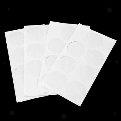 28pcs Round Safety Treads Non-Slip Applique Stickers Mat - Bath,Tub & Shower