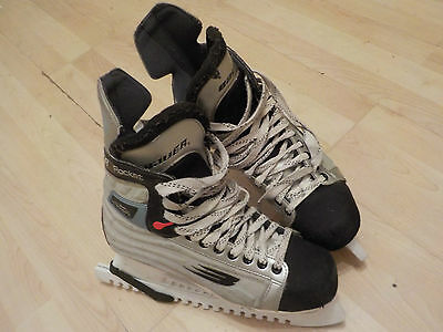 Bauer Rocket SFL Vapor Mono Structure H2 Tech Rocket UK 11.5 ice skating skates
