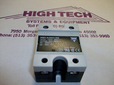 Carlo Gavazzi RM1A48A100 Solid State Relay Contactor NEW