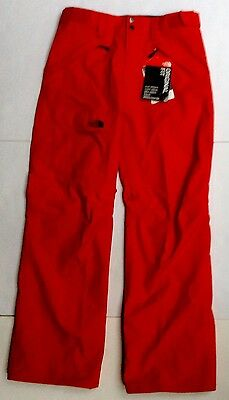 The North Face Men's Small Regular Hyvent Freedom Shell ski pants in TNF Red