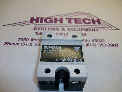 Carlo Gavazzi RM1A23D50 Solid State Relay Contactor NEW