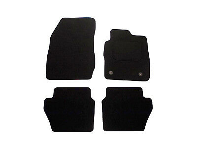 Ford Fiesta Floor Mats 4pc Tailored Fitted Black Carpet Car Mat Set (2011 on)
