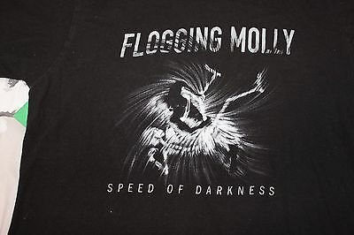 Flogging Molly T shirt  Speed of Darkness
