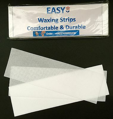 100 Depilatory Paper Waxing Strips Non woven for Legs body Hair Removal wax