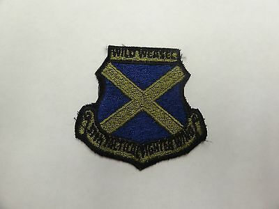 Military Patch Colored Sew On Older Vintage Us Air Force Wild Weasel 37Th Tfw