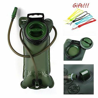 2L Water Bladder Bag BackPack Cycling Hiking Camping Hydration Camelbak Pack