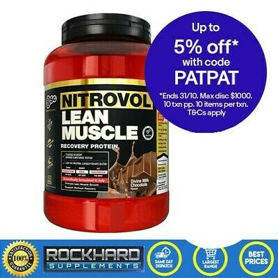 Body Science Nitrovol Lean Muscle + Free BSC Multivitamins 1.5kg Protein Powder