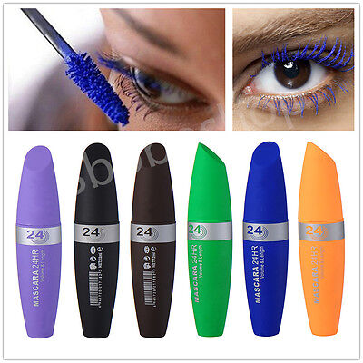 Colorful Smudge-proof Eyelash Extension Curling Lengthening Thick Mascara Makeup