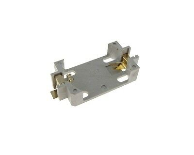SMD CR2450 Coin Cell Battery Holder Surface Mount - White