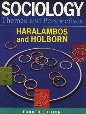 Sociology Themes and Perspectives by Holborn, Martin Paperback Book The Cheap