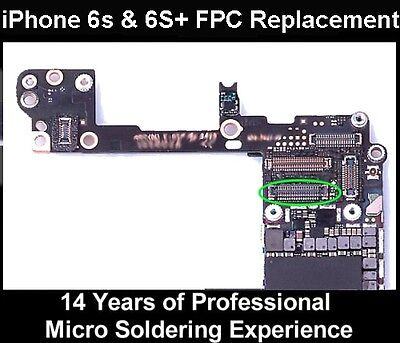 Apple IPHONE 6S & 6S+ Plus Front FWD Camera FPC CONNECTOR Replacement Repair