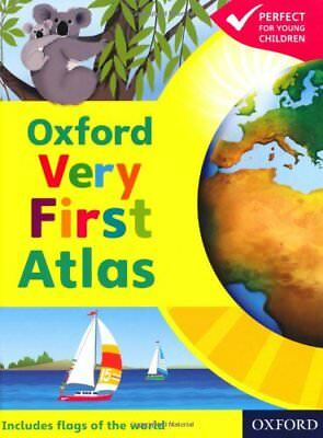 Oxford Very First Atlas Hardback 2011 Hardback Book The Cheap Fast Free Post