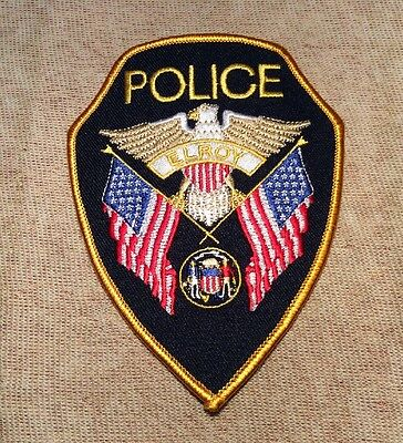 WI Elroy Wisconsin Police Patch