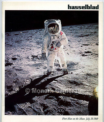 Hasselblad First Man on the Moon Camera & Lens Brochure from '69. Others Listed