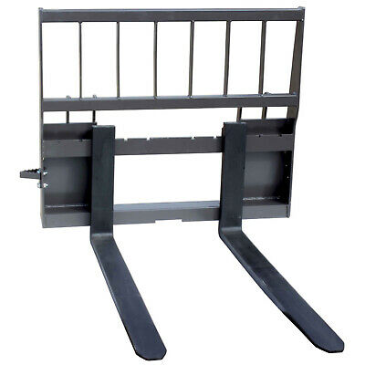 "UA Made in the USA HD Skid Steer Pallet Fork Attachment with 60"" Blades"