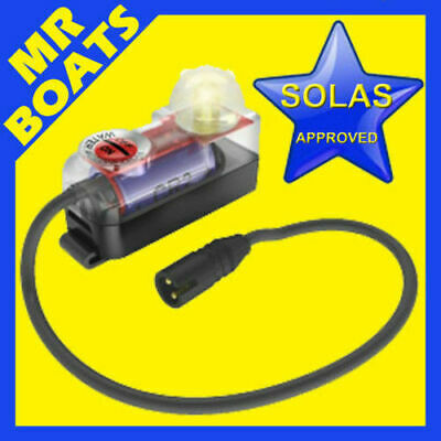 SOLAS APPROVED Water Activated Lifejacket EMERGENCY LED Strobe Light