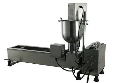 Stainless steel Automatic donut maker,donut machine with 3 sizes moulds,counter