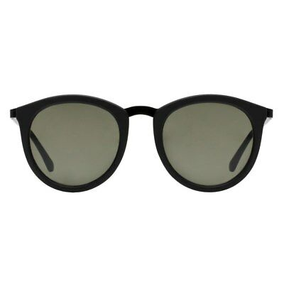 Le Specs No Smirking Unisex Sunglasses - Black