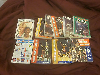 1969/1982 The Sporting News NBA Basketball Guides 10 Different EX/EX+