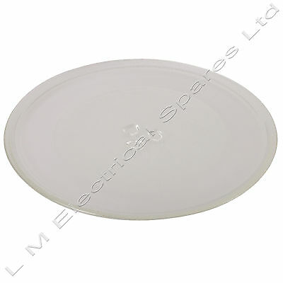 Premium Replacement 320mm Universal Microwave Glass Turntable Plate - 3 Lug Pip