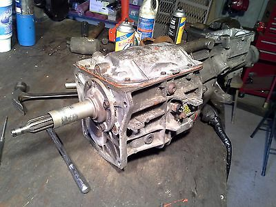 borg warner 5 speed manual transmission