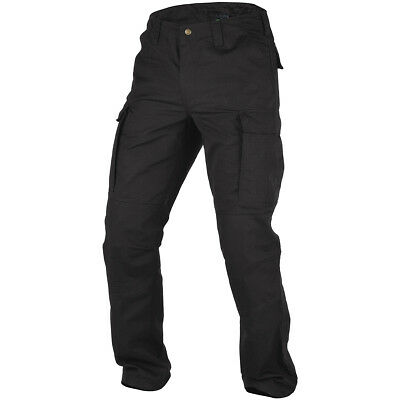 Pentagon Bdu 2.0 Pants Mens Cargo Work Security Tactical Police Trousers Black
