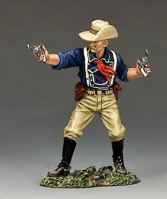 KING AND COUNTRY  REAL WEST George Armstrong Custer TRW20 MILITARY METAL PAINTED