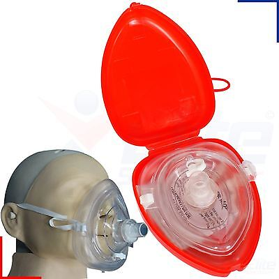 CPR Face Mask Rescue Resuscitator Resuscitation First Aid Emergency