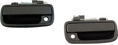 Toyota Tacoma Outside Exterior Door Handles 1995-2004 Front Pair Black Textured