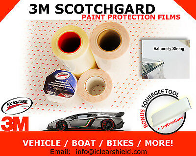 3M Scotchgard Paint Protection Films -Clear Bra Car Vehicles Bike Boats MORE!!!