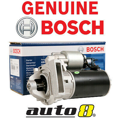 Genunine Bosch Starter Motor for Holden Commodore Auto 3.8L V6 VN VR VS VT VX VY