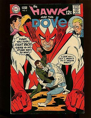 Hawk and the Dove #2 FN+ Ditko