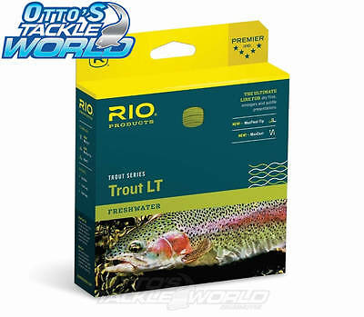 RIO Trout LT (Light Touch) Freshwater Fly Line in Camo Beige BRAND NEW at Otto's