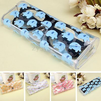 Clear Sunglasses Case Spectacle Storage Protection Portable Glasses Carry Box UK