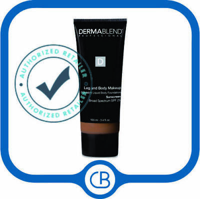 Dermablend SPF 15 Leg And Body Cover 'Toast' 3.4 oz / 100 ML *NEW IN BOX*