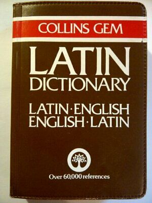 Collins Gem Latin-English, English-Latin Dictionary by D. A. Kidd Paperback The