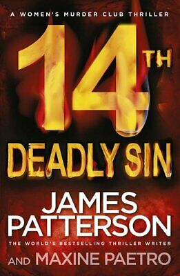 14th Deadly Sin: (Women's Murder Club 14) by Patterson, James Book The Cheap