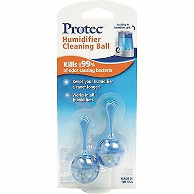 3 Pack ProTec PC-2 Humidifier Tank Antimicrobial Cleaning Cartridge 2 Each = 6