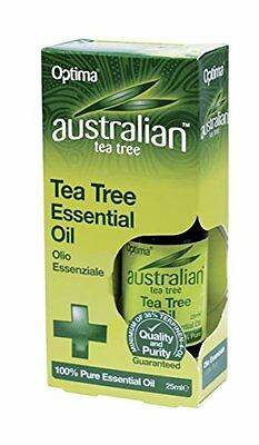 Australian Tea Tree antiseptic oil for cleaning minor cuts, insect bites - 25ml