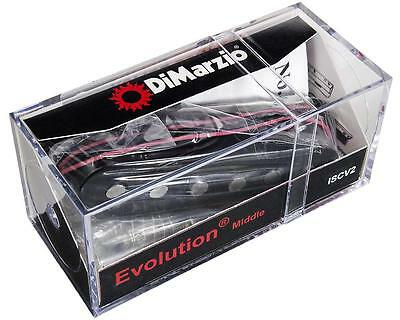 DiMarzio ISCV2 Single-coil Middle Pickup for Evolution Set, Black