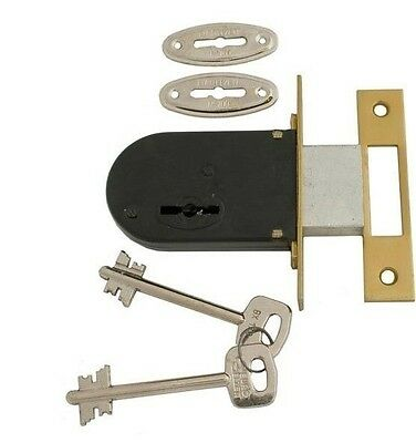 Euro Elzett 700 Mortise Deadlock Wooden door lock upper lock security