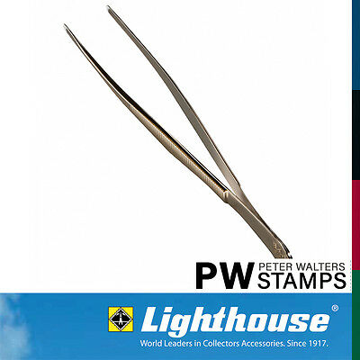 Lighthouse Stamp Tweezers / Tongs 15cm Pointed Tip with Sleeve