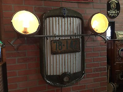 "Vintage 1930's CHEVY Automotive Wall Art Retail Display ""Watch Video"""