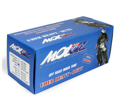 Motoz 4Mm Uber Ultra Heavy Duty Motorcycle Tube 100/110-19 (3.25/3.50) 19 Inch C
