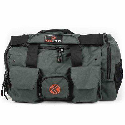 New King Kong Duffle Bag - The Original - 3.0 - Charcoal from The WOD Life