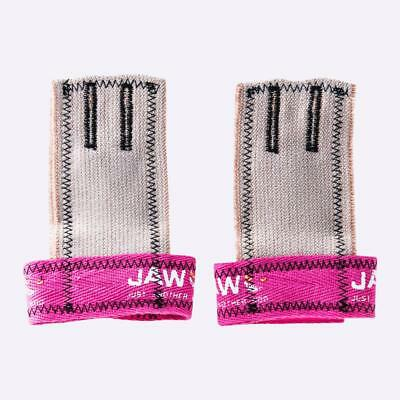 JAW Pull Up Grips - Pink The WOD Life Crossfit