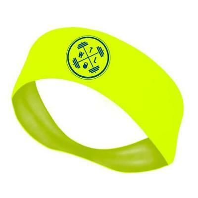 New The WOD Life Neon Yellow Circle Headband from The WOD Life